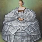 La dame de papier