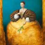 la dame à la fleur de ys